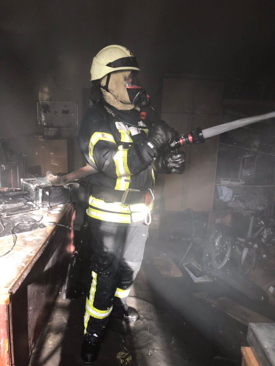 Причины пожара уточняются
