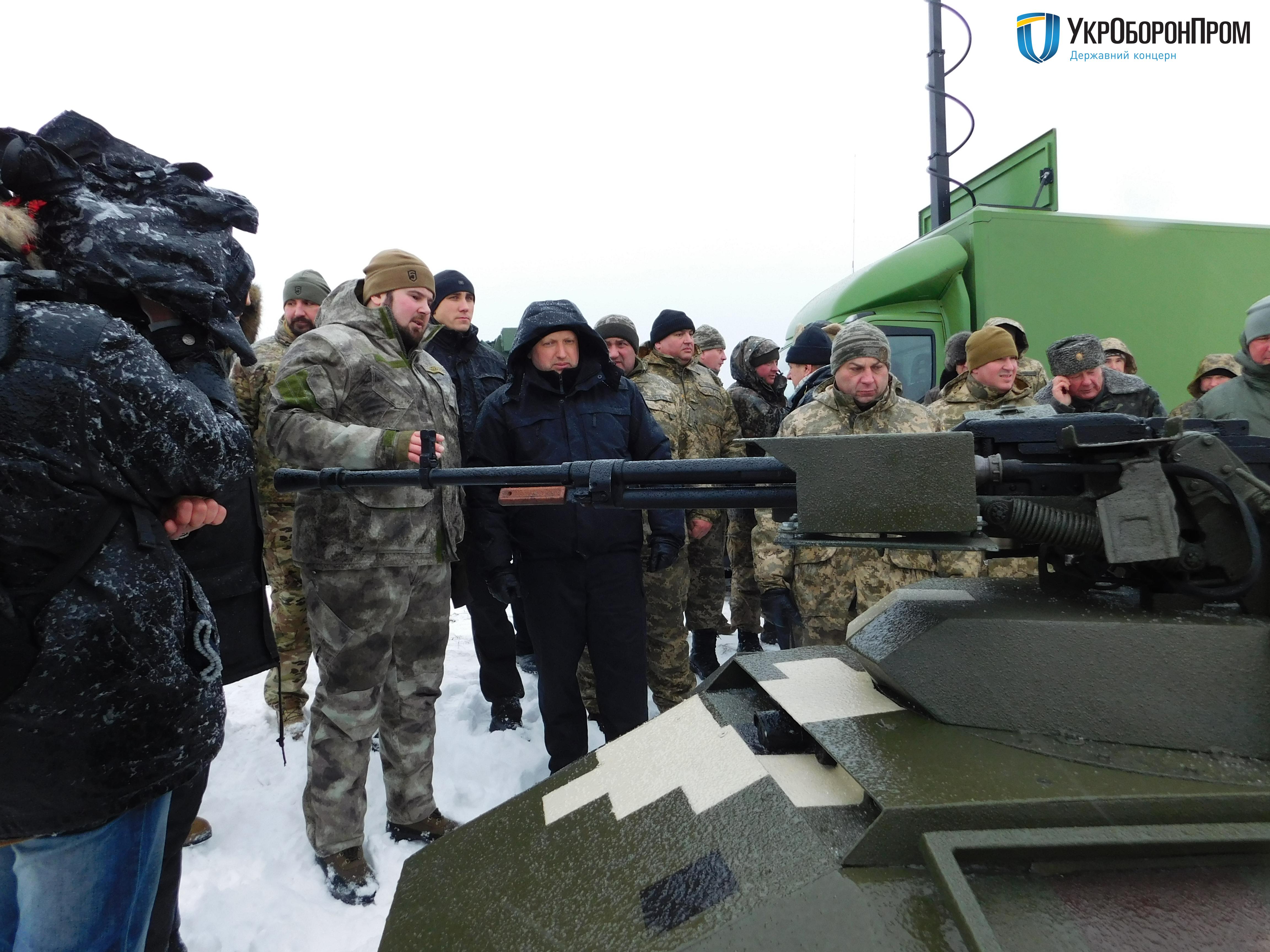 Появилось видео испытаний беспилотного «воина будущего»— БТР Фантом украинского производства