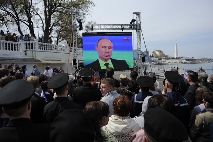 Прямая линия с Путиным. Севастополь