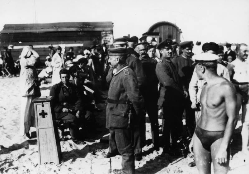 Пляжи Киева. 1918 год