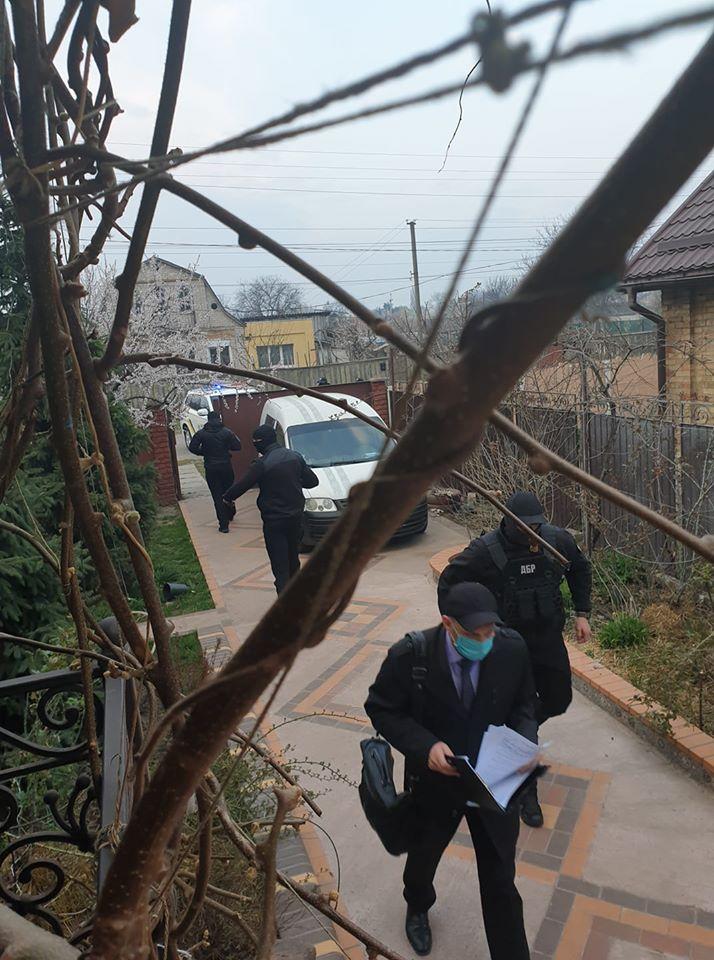 Обыски в доме Черновол