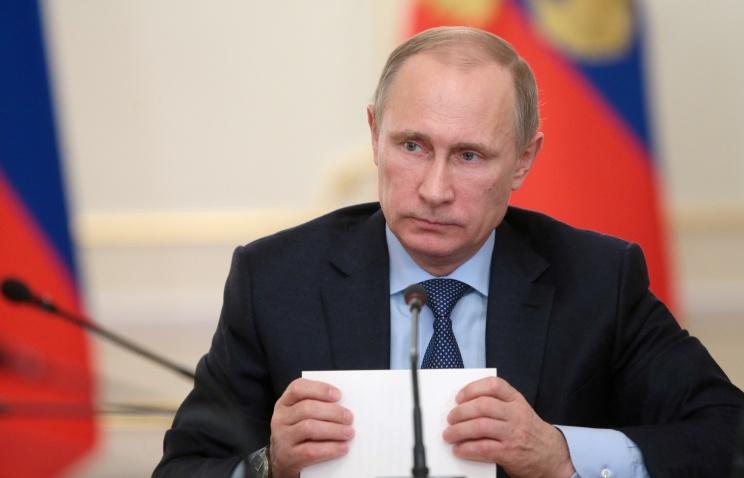 Путин выступил по Крыму