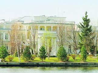 порошенко дом фото