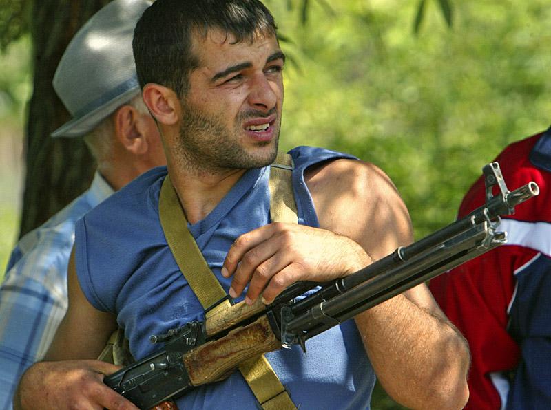 8 августа. Осетинское народное ополчение первым приняло на себя удар грузинской армии
