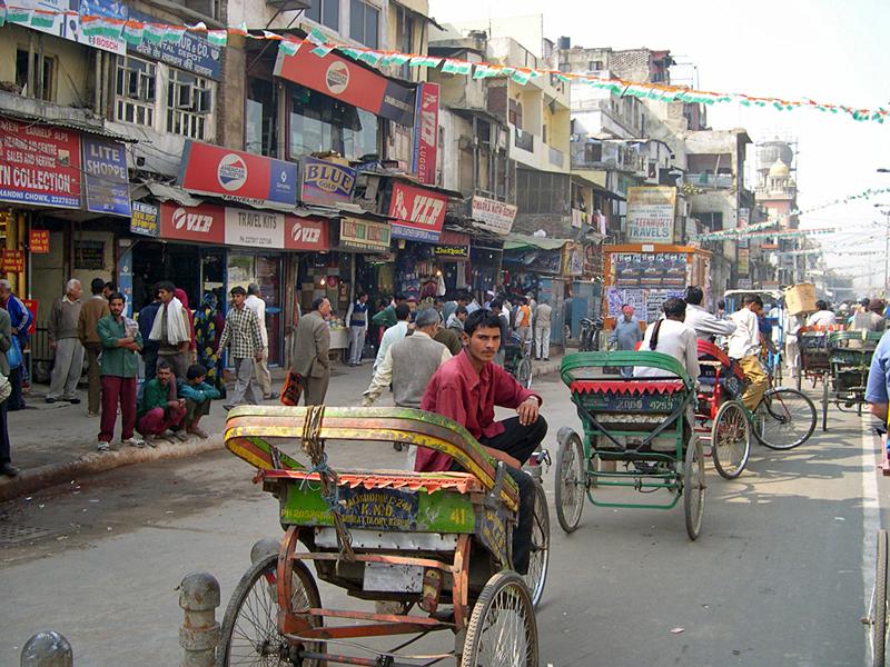 Чандни Чоук (Дели) - крупнейший рынок Индии