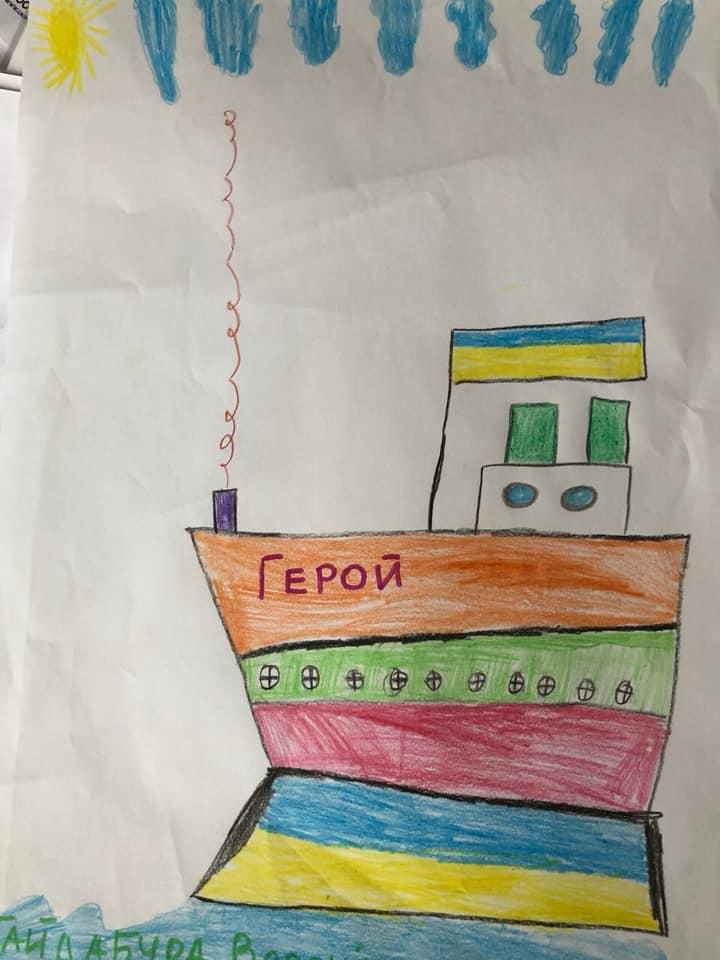 Дети очень личностно восприняли историю наших моряков