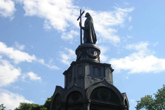 1025-летие Крещения Руси. На Владимирской горке состоится торжественный молебен