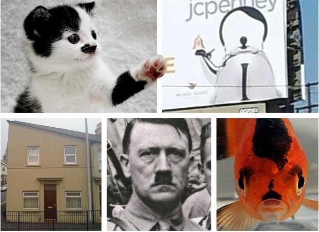 Все эти изображения похожи на Гитлера