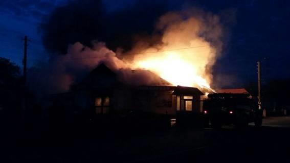 Неизвестный взорвал магазин вКиевской области