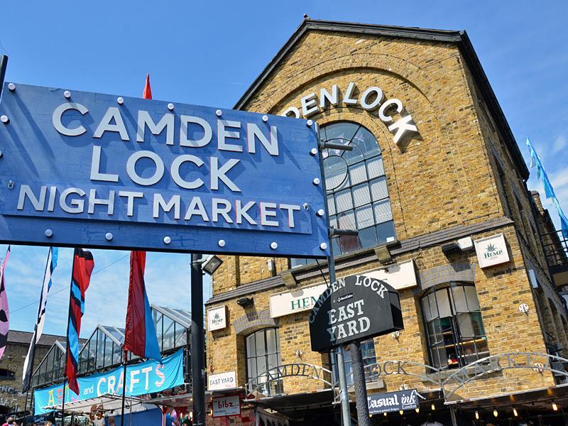 Рынок Кэмден - одна из достопримечательностей Лондона