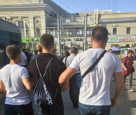 Фото секса с тремя мужиками