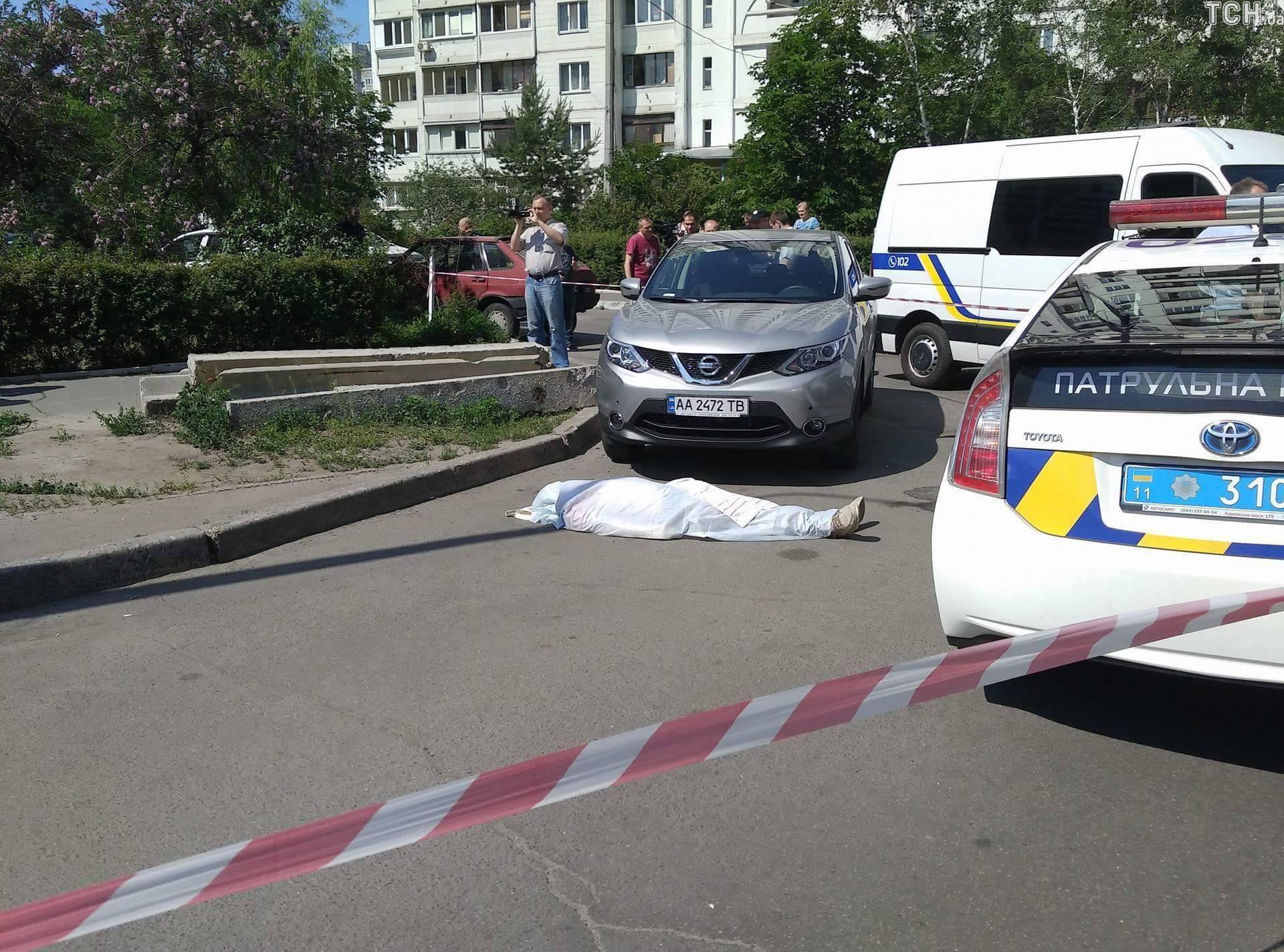 Убитый наПозняках мужчина оказался экс-главой «Укрспирта»— ЧПвКиеве