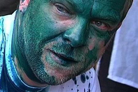 В адвоката Юлии Тимошенко Сергея Власенко бросили зеленку, 2012 год