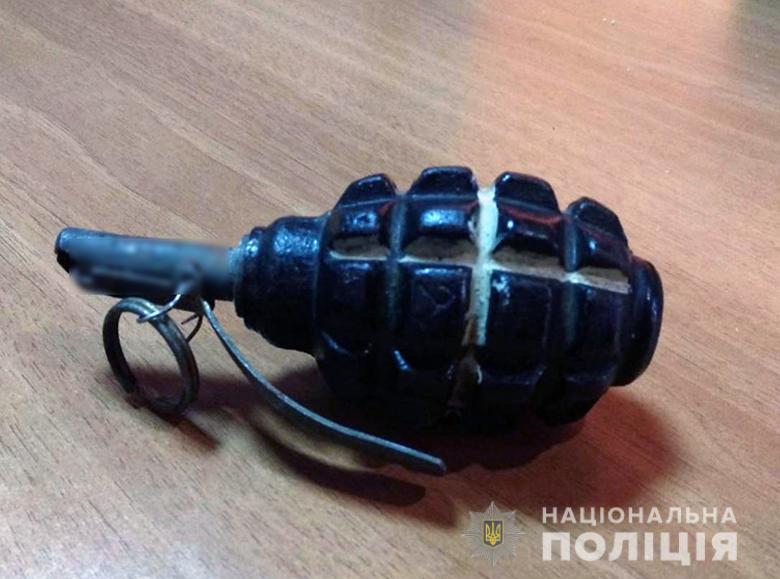 Фото гранаты