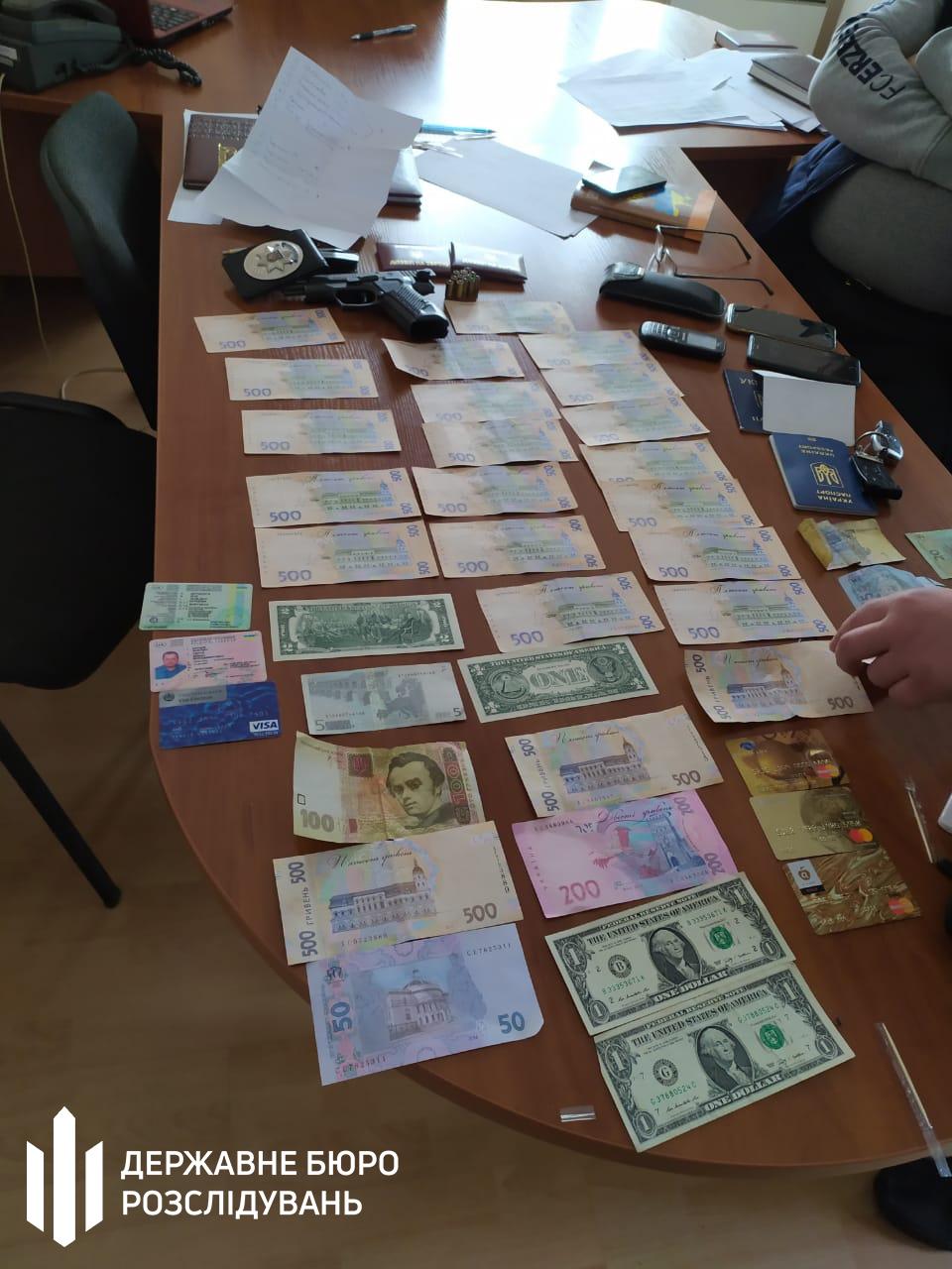 Злоумышленники требовали взятку в размере 40 тысяч грн