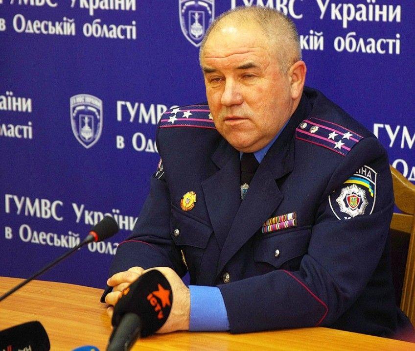 Петр Луцюк может быть уволен с поста начальника Главного управления МВД Украины в Одесской области
