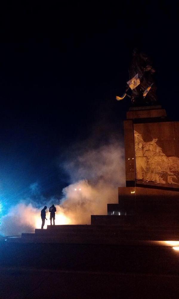 Проукраинские активисты