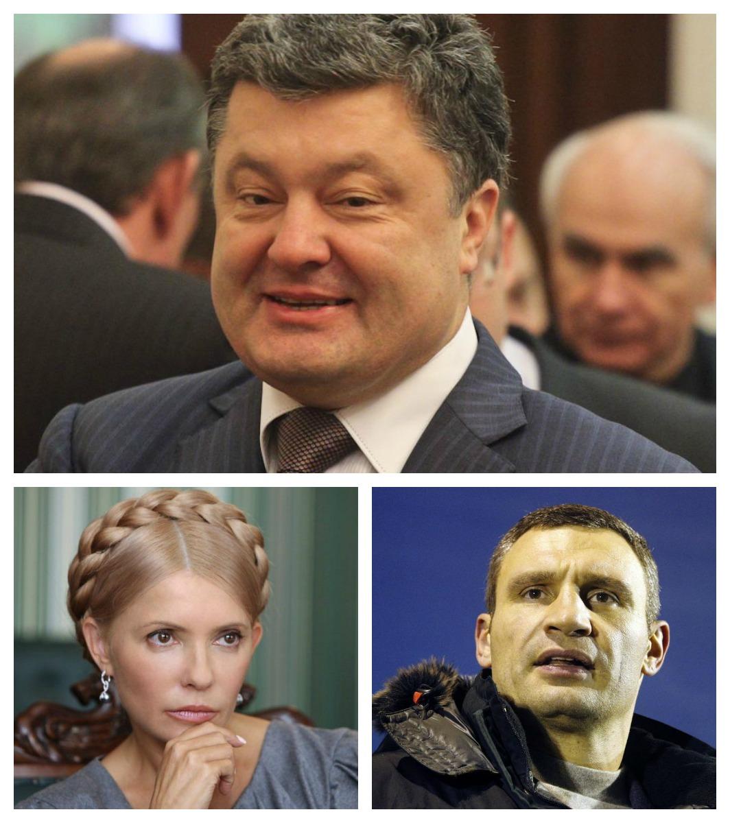 Выборы Президента Украины 2014: главные претенденты на победу