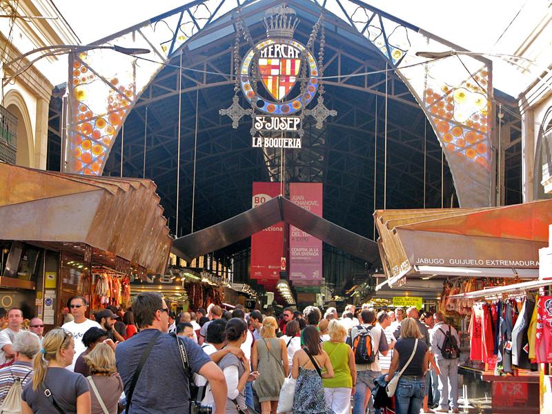 Ла Бокерии (Барселона) - один из древнейших рынков Европы