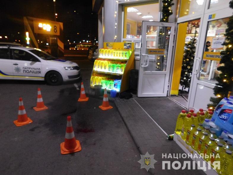 В Киеве близнецы из-за бутылки