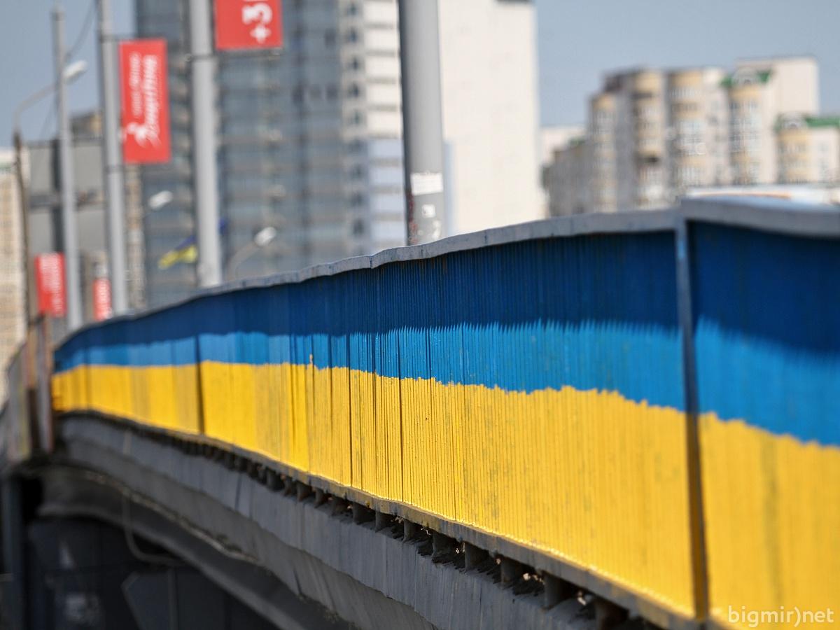 погода неделю почему в украине все окрашивают в цвет флага Тюменская область