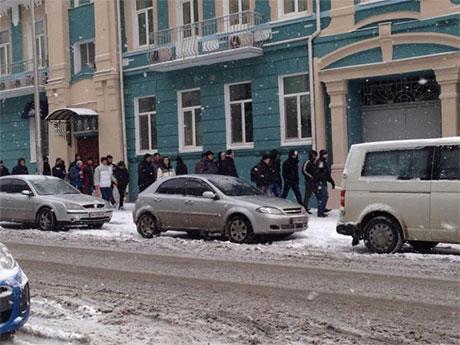 Представительство ЕС в Киеве заблокировали