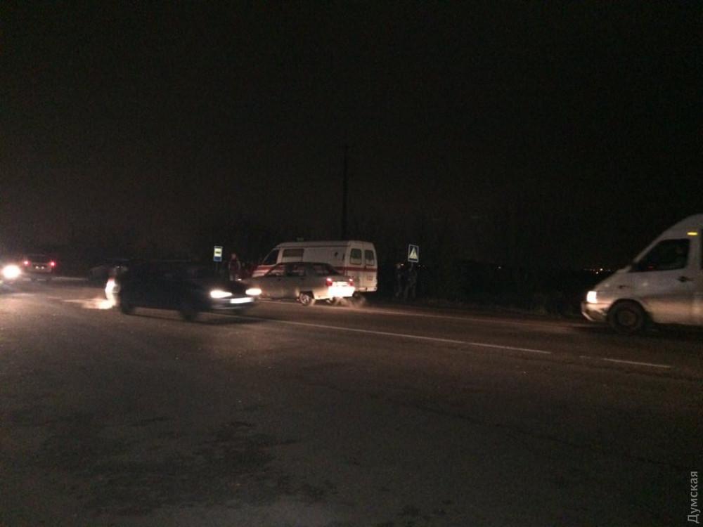 Местные жители перекрыли трассу, требуя решить вопрос с освещением