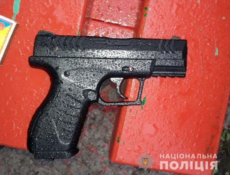 Полиция изъяла пистолет