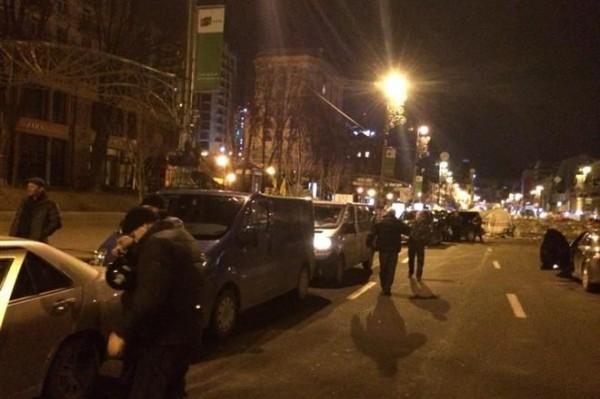 В Киев прибывают активисты из регионов