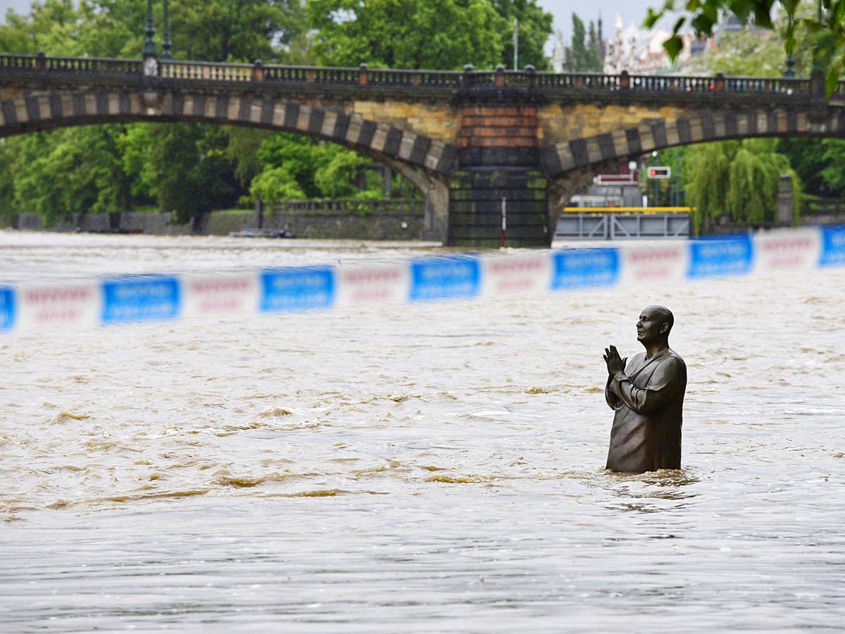Наводнение в праге сильнейшее за 60