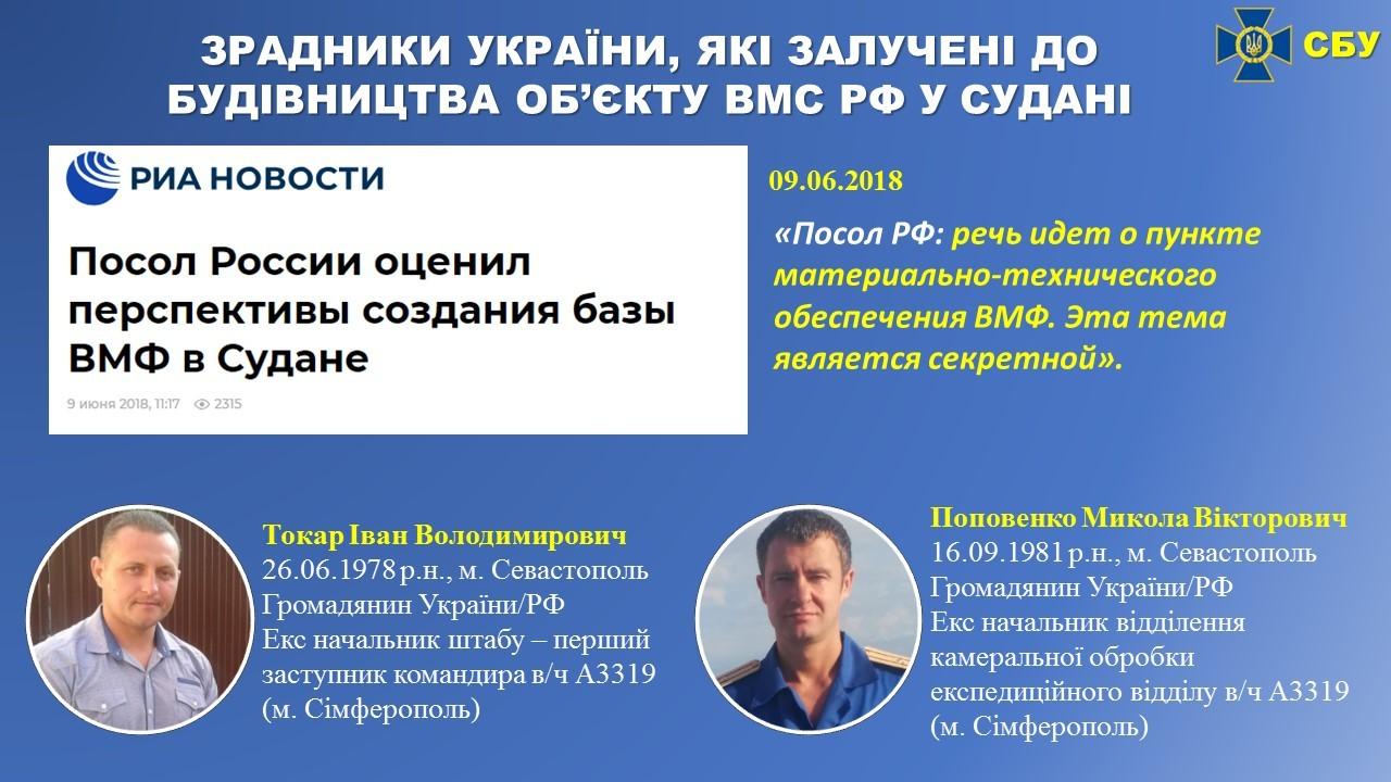 Бывших украинских военных, которые перевели в ЧФ РФ, тоже отправили в Судан