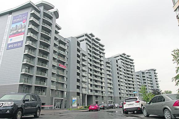 Тот самый жилой комплекс на Окипной, 18