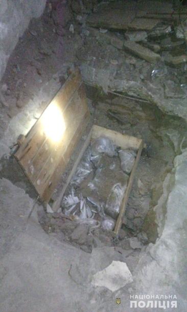 СБУ обнаружила схрон