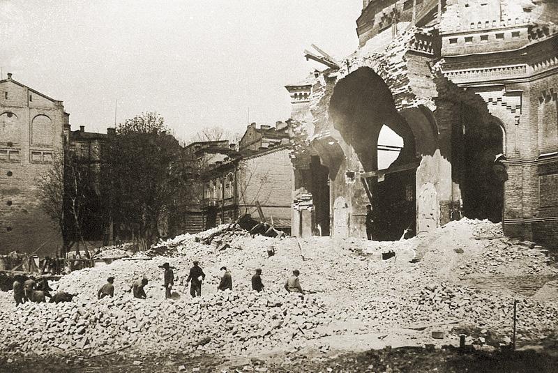Руины Благовещенской церкви
