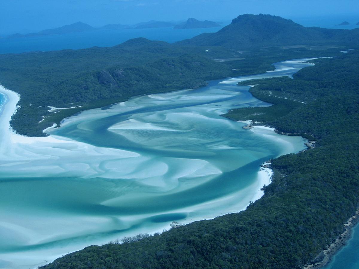 Пляжи Белой гавани, Австралия
