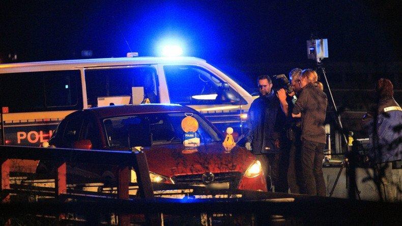 Места расстрела машины Павла