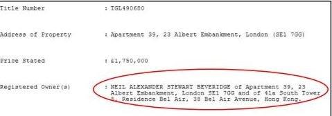 Владельцем квартиры записан гражданин Британии