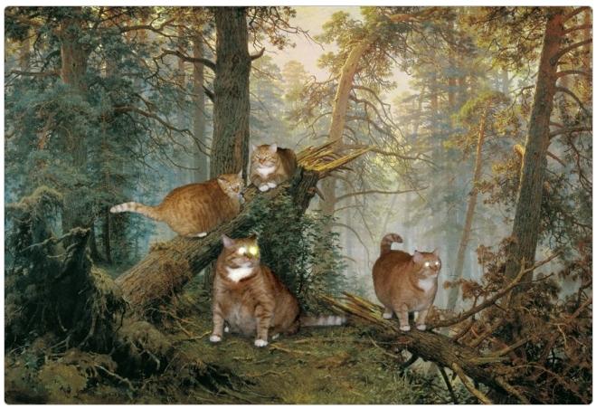 Иван Шишкин, Утро в сосновом лесу