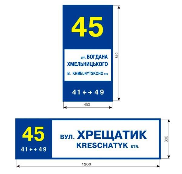 Уличные указатели к Евро-2012 тоже вызвали критику дизайнера