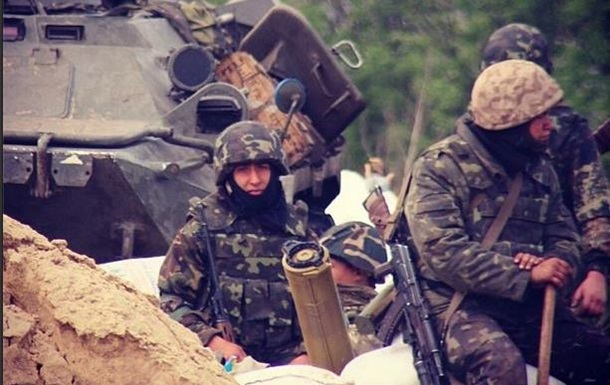 В Славянске проходила антитеррористическая операция