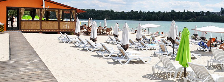 Пляж в Горенке
