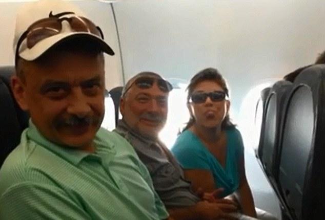 По словам самих пассажиров, они вели себя прилично, но стюардессу напугала их русская речь