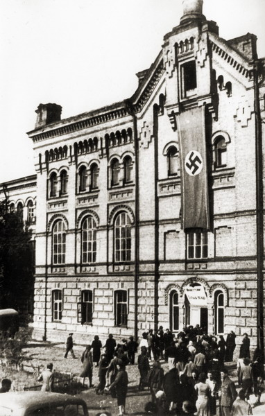 Киев под нацистами: лживая пропаганда, безработица и голод. Серия 4