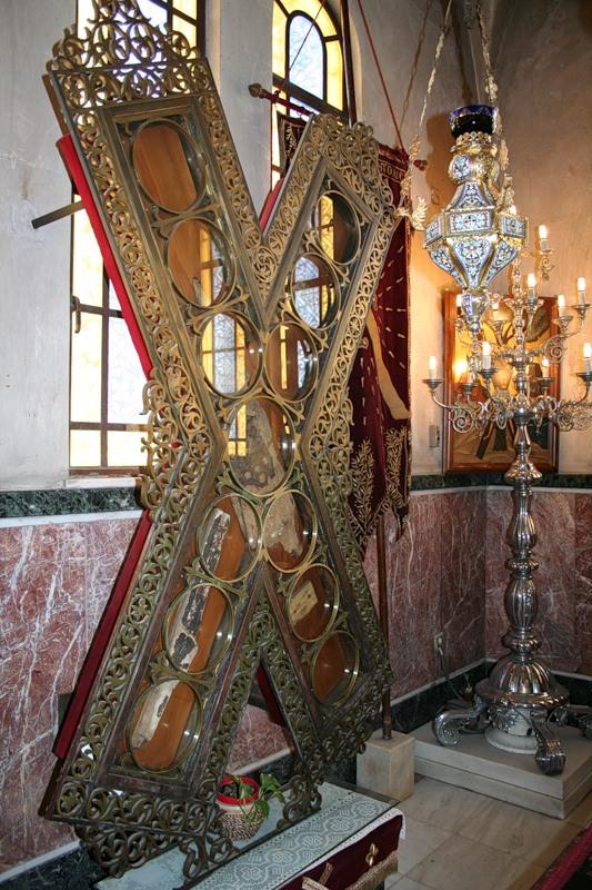 В Киево-Печерскую лавру из Греции привезут чудотворный крест