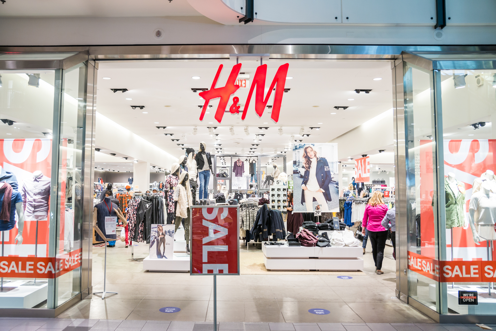В Киеве появится первый магазин H&M