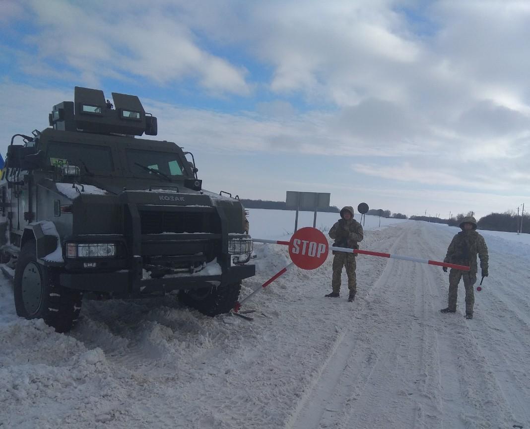 Пограничники заверяют, что у них достаточно техники и оборудования для охраны границ с РФ