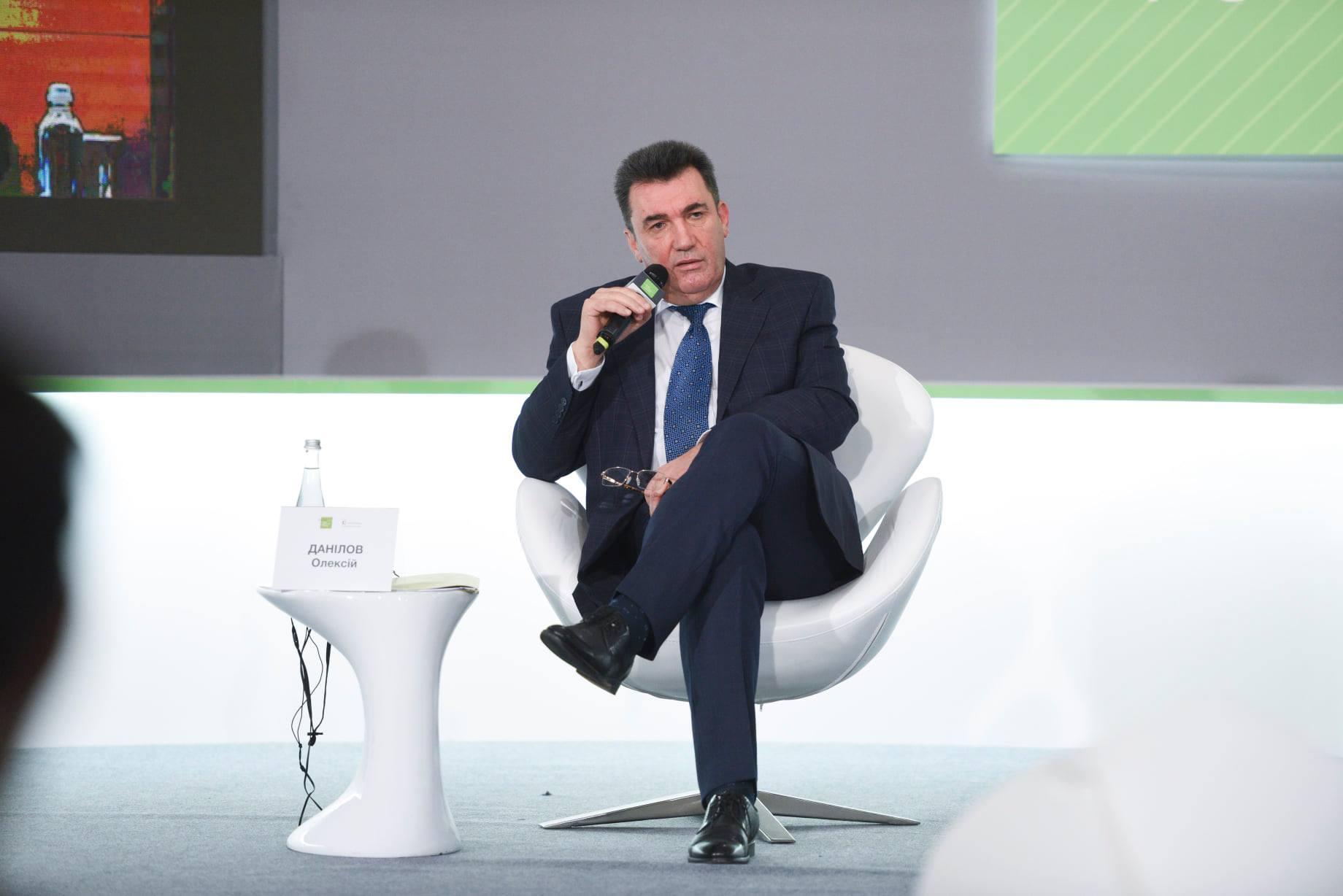 Выступление Данилова на Киевском форуме безопасности