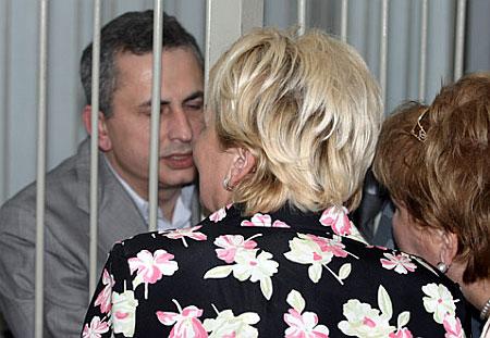 Борис Колесников за решеткой