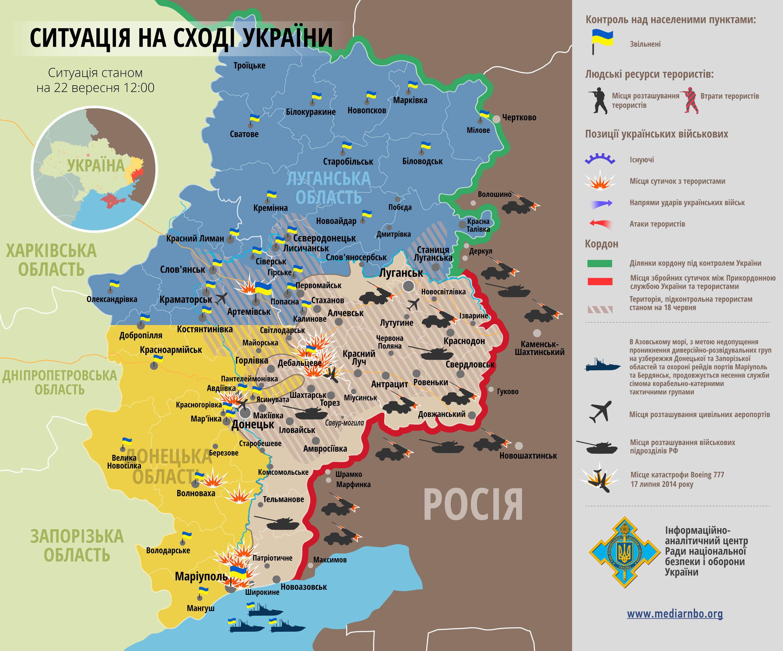 Карту Луганской Области