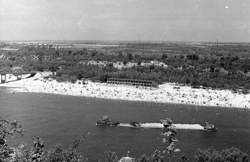 1959. Общий вид Труханова острова